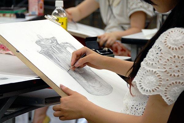材質感を追求する/デザイン・工芸科 私大コース_f0227963_9225045.jpg