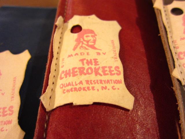 MADE IN USA, THE CHEROKEES GLASSES CASE(メガネケース)_e0337274_19111598.jpg