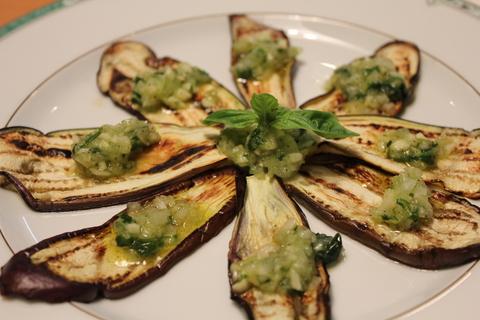 たっぷり夏野菜でおいしい晩ご飯_a0223786_1194735.jpg