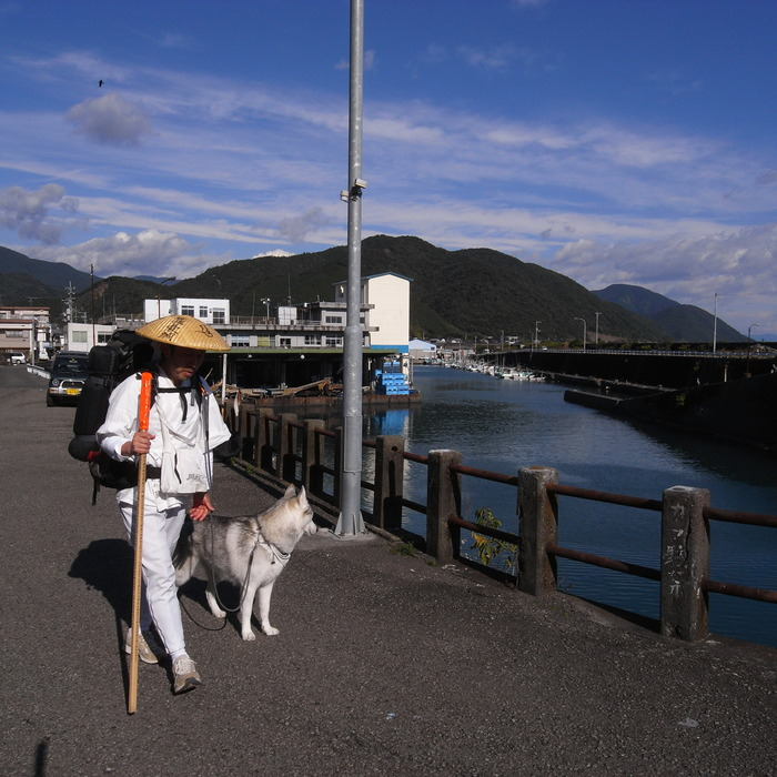 Memory of the second pilgrimage with husky HANA_c0049299_10102422.jpg