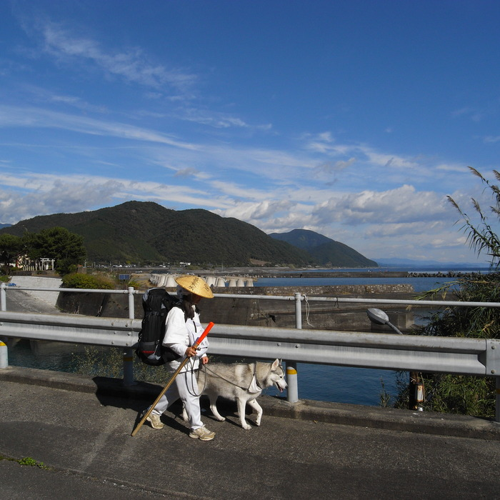 Memory of the second pilgrimage with husky HANA_c0049299_10105578.jpg