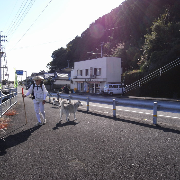 Memory of the second pilgrimage with husky HANA_c0049299_10114498.jpg