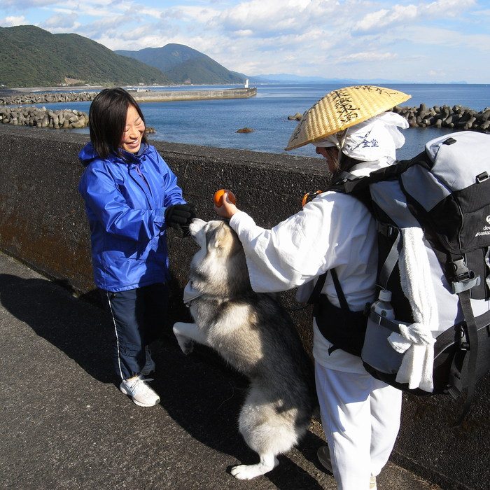 Memory of the second pilgrimage with husky HANA_c0049299_10202594.jpg