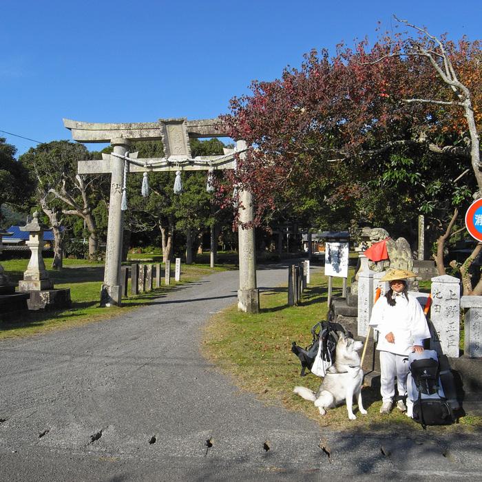 Memory of the second pilgrimage with husky HANA_c0049299_1034647.jpg