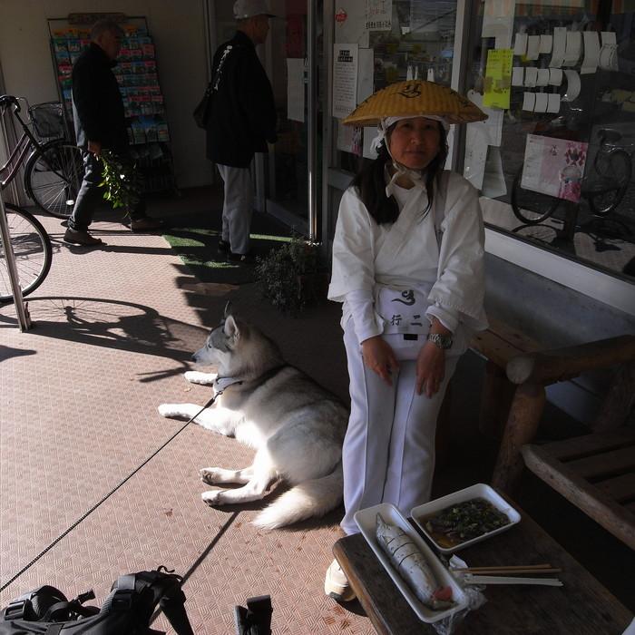 Memory of the second pilgrimage with husky HANA_c0049299_1073539.jpg