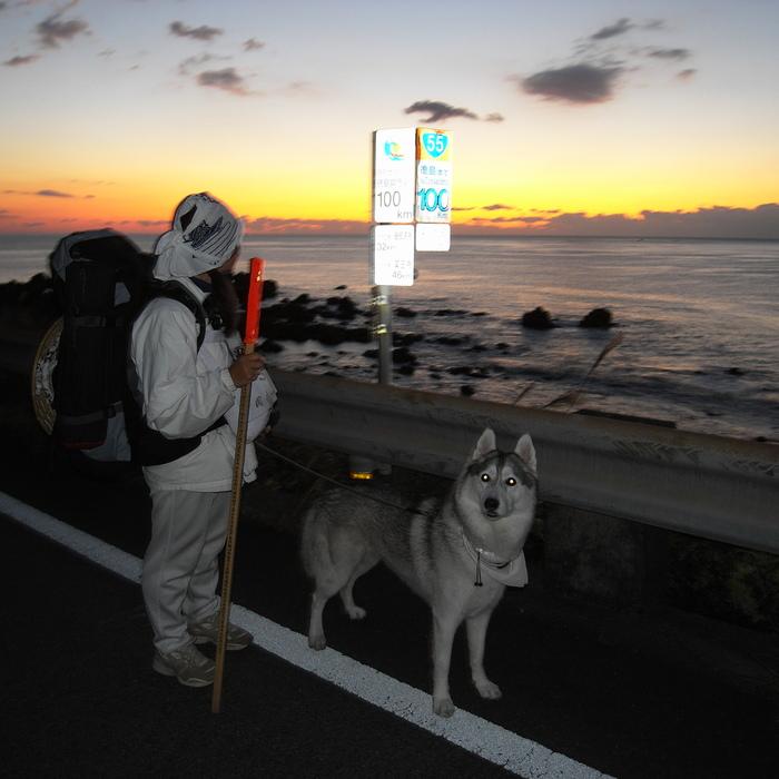 Memory of the second pilgrimage with husky HANA_c0049299_9534884.jpg