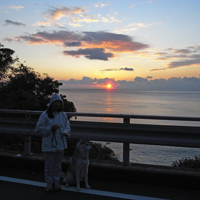 Memory of the second pilgrimage with husky HANA_c0049299_9545251.jpg