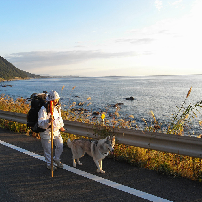 Memory of the second pilgrimage with husky HANA_c0049299_9585937.jpg