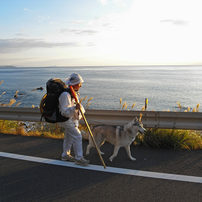 Memory of the second pilgrimage with husky HANA_c0049299_9591193.jpg