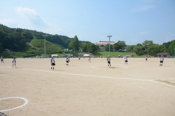 岡山県 準決勝 竜操VS津山東_b0249247_2128640.jpg