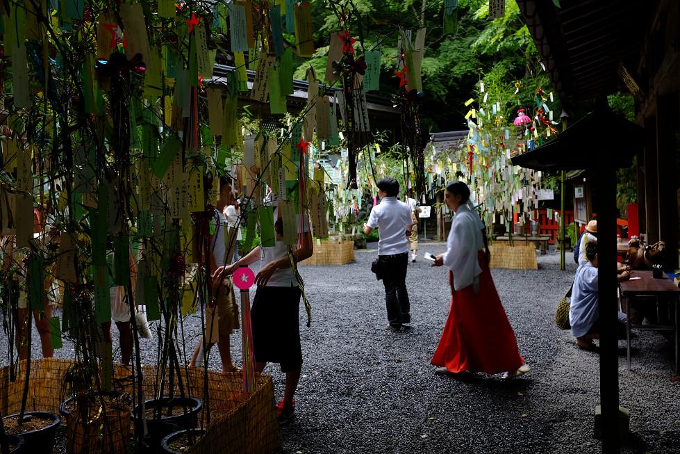 2013夏写真 貴船神社・七夕笹飾り 〜前編〜_f0152550_2211037.jpg