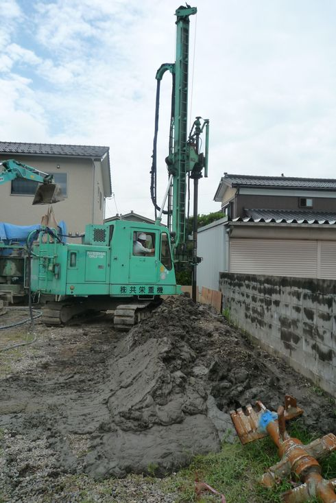柱状改良工事_e0030180_19275571.jpg