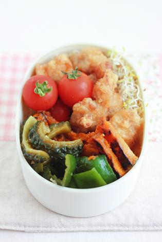 7月24日 夏野菜の焼き浸し弁当と京菓子司 満月の阿闍梨餅のこと♪_a0154192_14112195.jpg