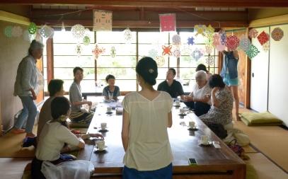 7/21(日)北川小絵子さんによる切り紙ワークショップ終了しました!_c0110117_15371455.jpg