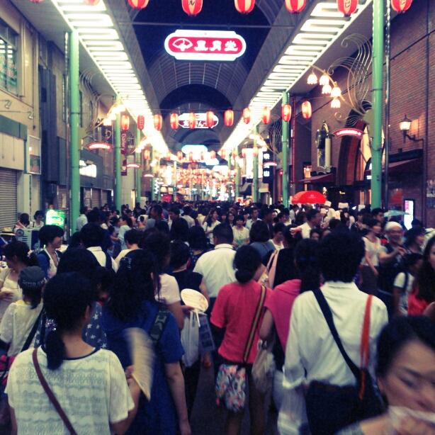 7/23に元町商店街で行われた夜市行ってきました_e0310535_13283512.jpg