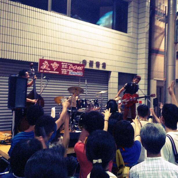 7/23に元町商店街で行われた夜市行ってきました_e0310535_13291776.jpg