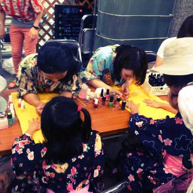 7/23に元町商店街で行われた夜市行ってきました_e0310535_13301391.jpg