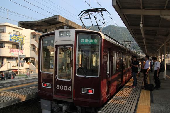 阪急8004F 通勤準急運用_d0202264_22522652.jpg