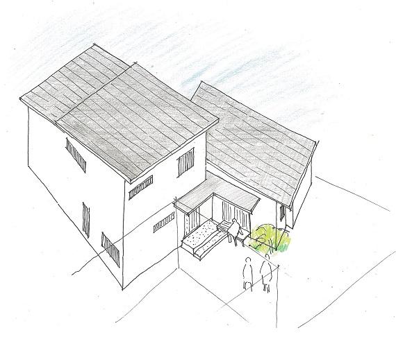 のびやかな大人の2世帯住宅-別府の住宅_b0118287_7153612.jpg