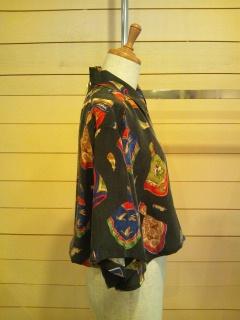 スカーフ柄のシャツ_e0268298_14211825.jpg