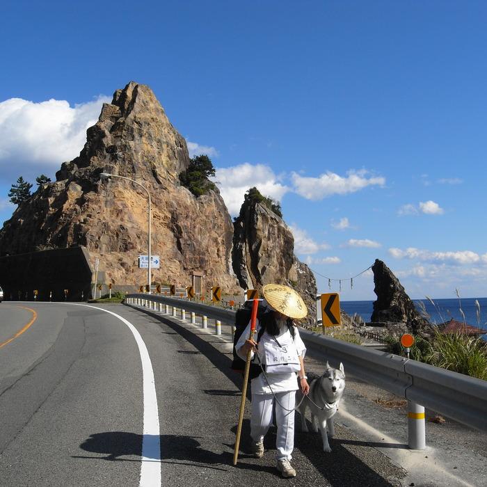 Memory of the second pilgrimage with husky HANA_c0049299_11103964.jpg