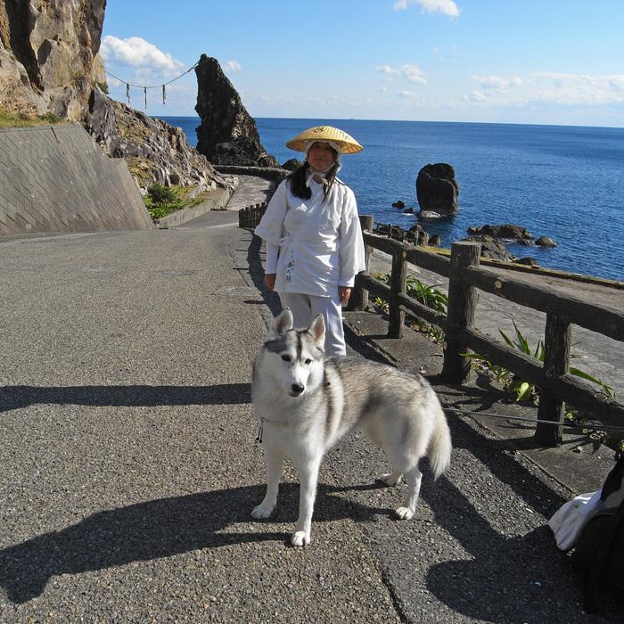 Memory of the second pilgrimage with husky HANA_c0049299_1110577.jpg