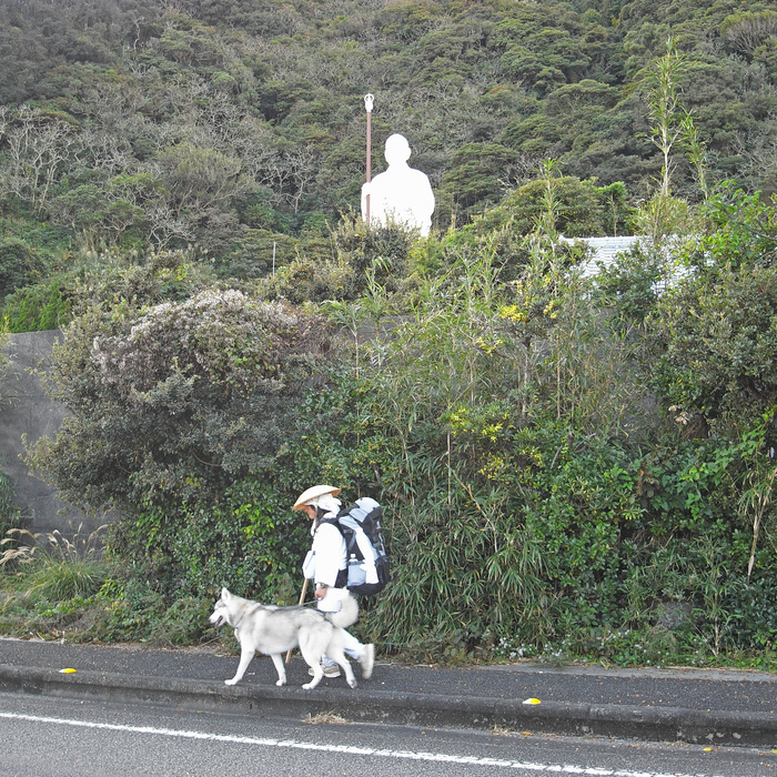 Memory of the second pilgrimage with husky HANA_c0049299_11155076.jpg