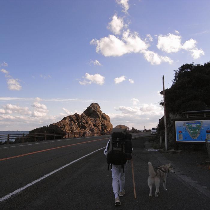 Memory of the second pilgrimage with husky HANA_c0049299_1116259.jpg