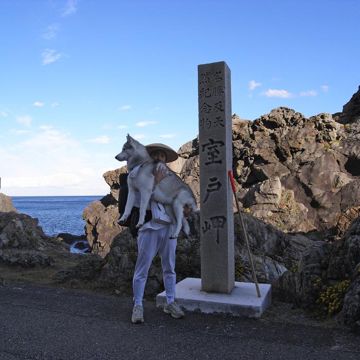 Memory of the second pilgrimage with husky HANA_c0049299_11163866.jpg