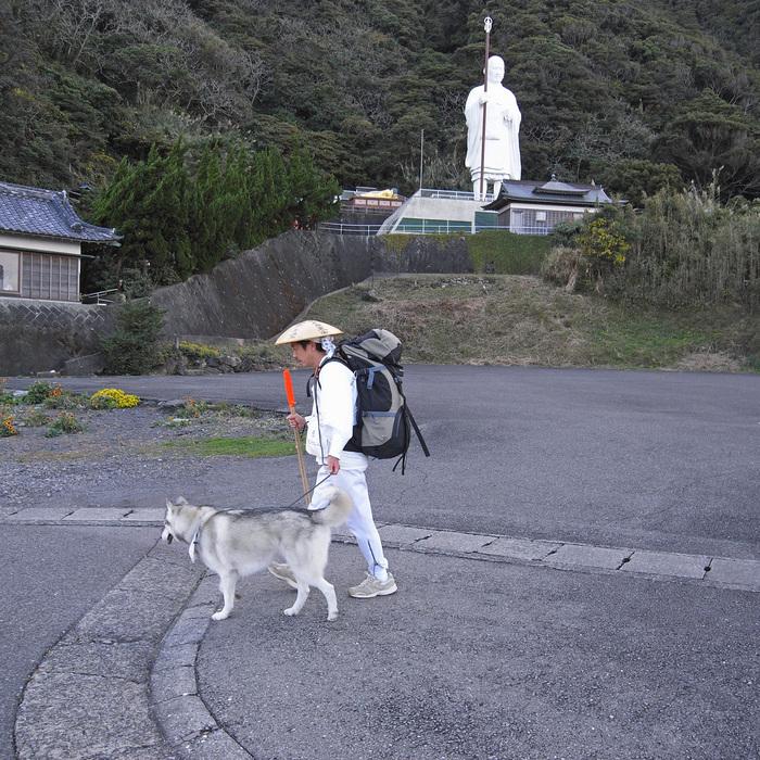 Memory of the second pilgrimage with husky HANA_c0049299_1116512.jpg