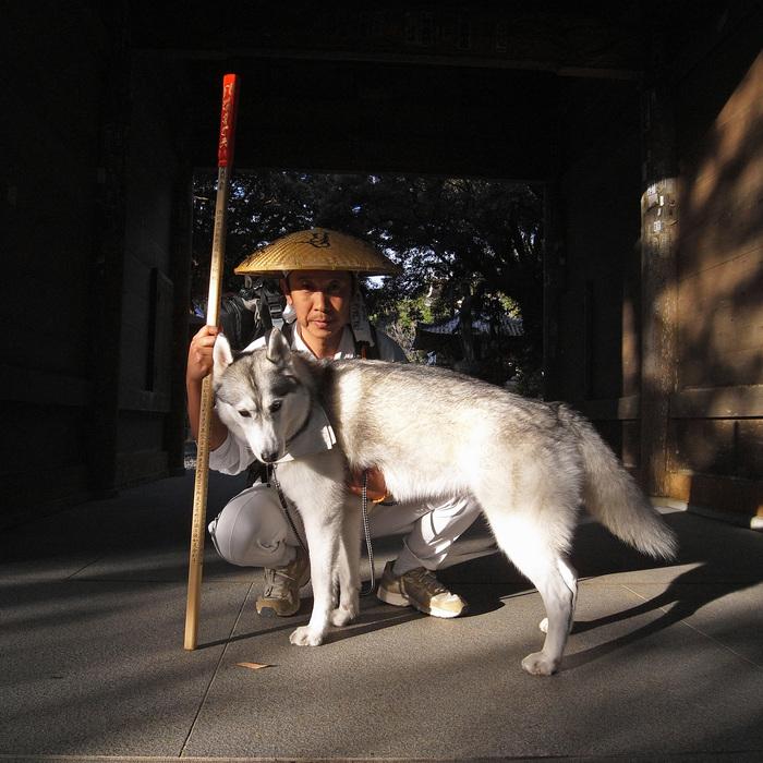 Memory of the second pilgrimage with husky HANA_c0049299_1120394.jpg