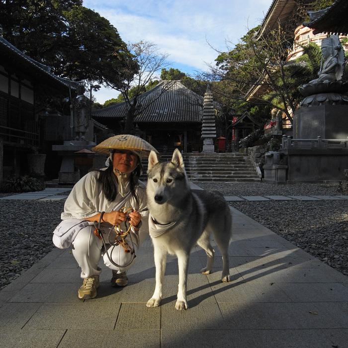 Memory of the second pilgrimage with husky HANA_c0049299_1120416.jpg