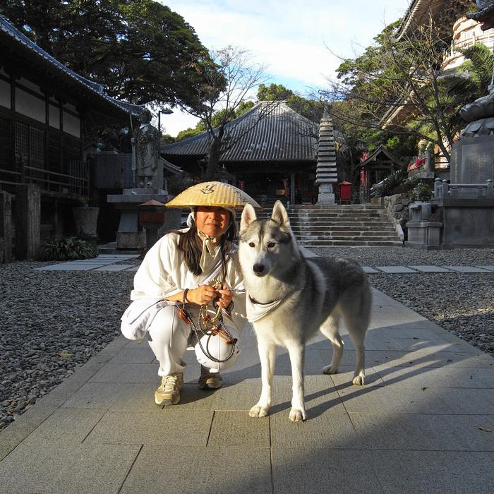 Memory of the second pilgrimage with husky HANA_c0049299_11213520.jpg