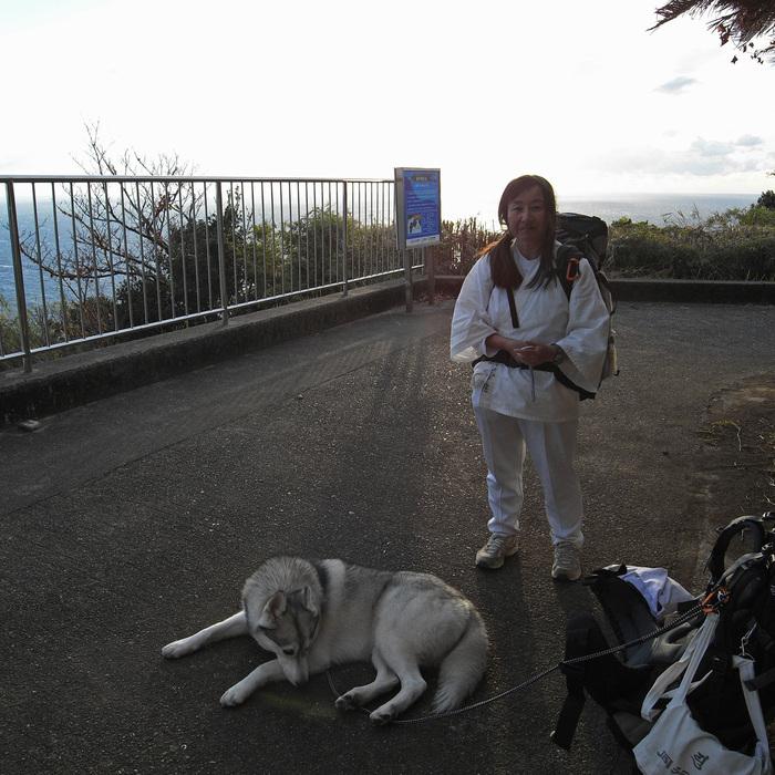 Memory of the second pilgrimage with husky HANA_c0049299_1122284.jpg