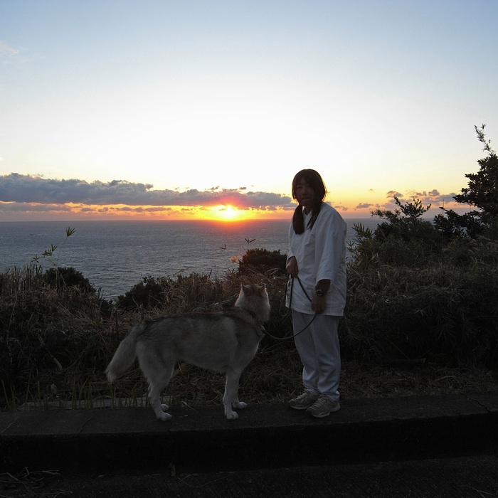 Memory of the second pilgrimage with husky HANA_c0049299_1125090.jpg