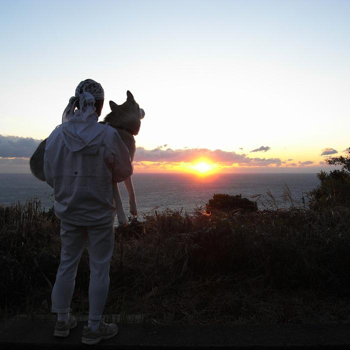 Memory of the second pilgrimage with husky HANA_c0049299_11273797.jpg