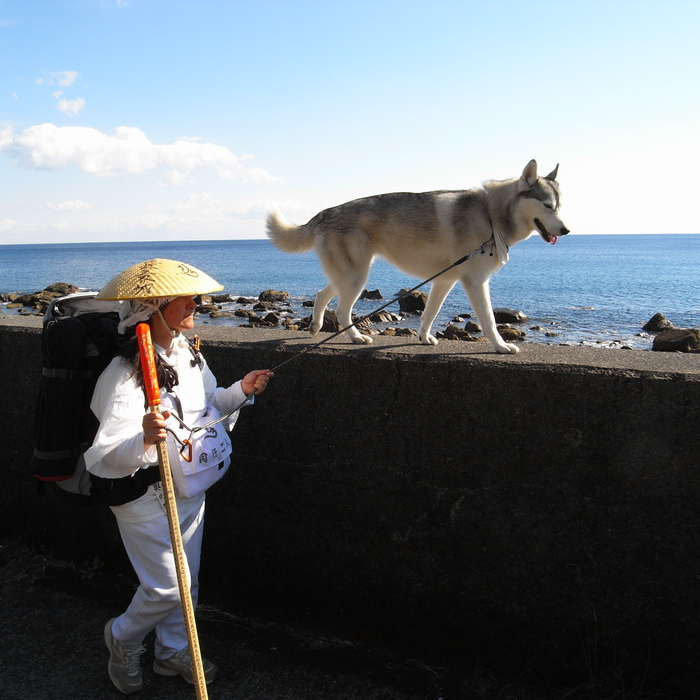 Memory of the second pilgrimage with husky HANA_c0049299_1151147.jpg