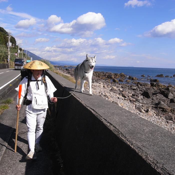 Memory of the second pilgrimage with husky HANA_c0049299_1165289.jpg