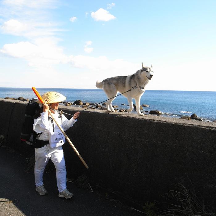 Memory of the second pilgrimage with husky HANA_c0049299_116797.jpg