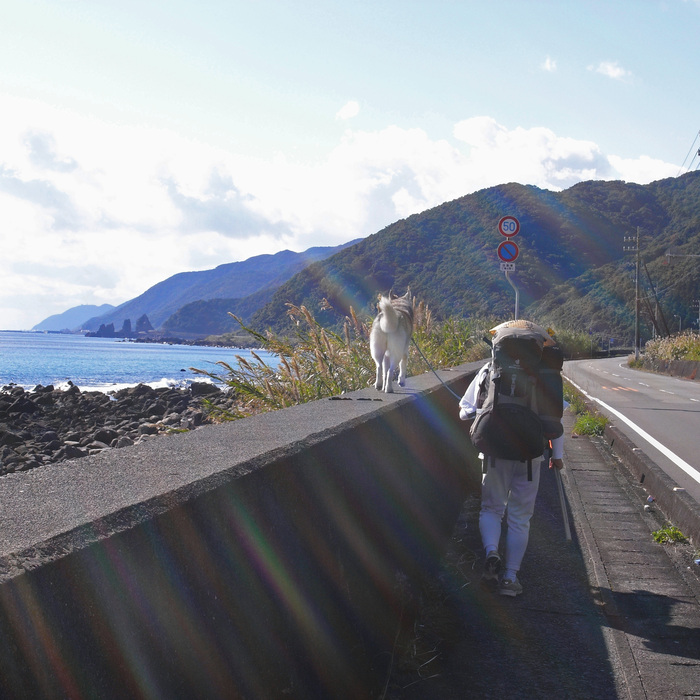 Memory of the second pilgrimage with husky HANA_c0049299_1174159.jpg