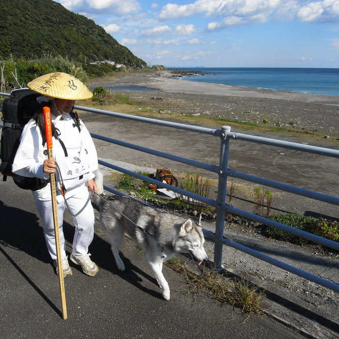 Memory of the second pilgrimage with husky HANA_c0049299_1175747.jpg