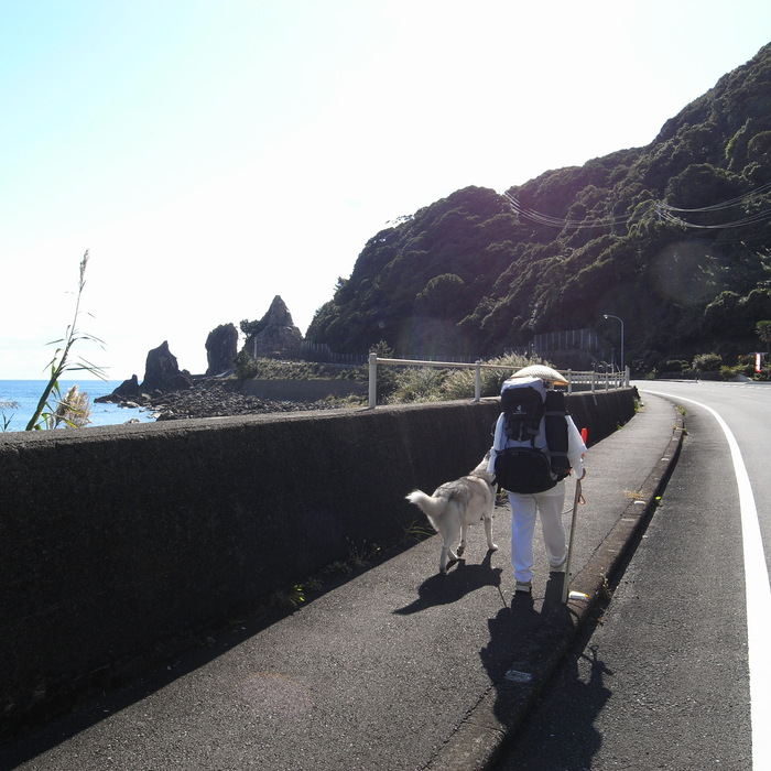 Memory of the second pilgrimage with husky HANA_c0049299_1183658.jpg