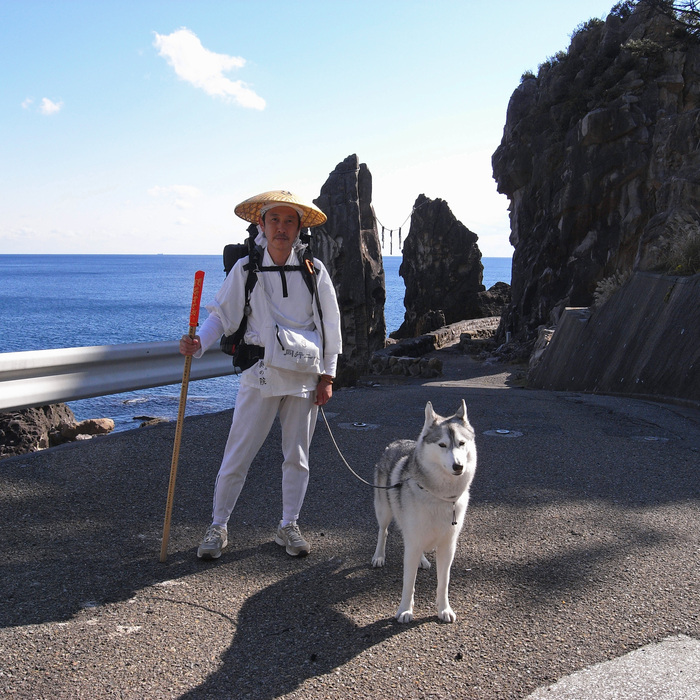 Memory of the second pilgrimage with husky HANA_c0049299_1194262.jpg