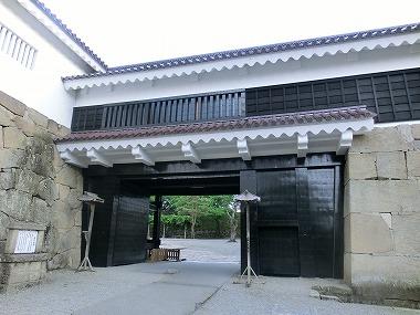 会津若松城①(大江戸散歩)_c0187004_1713489.jpg