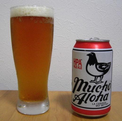 mucho Aloha PALE ALE~麦酒酔噺その147~ウマイかも_b0081121_6552666.jpg
