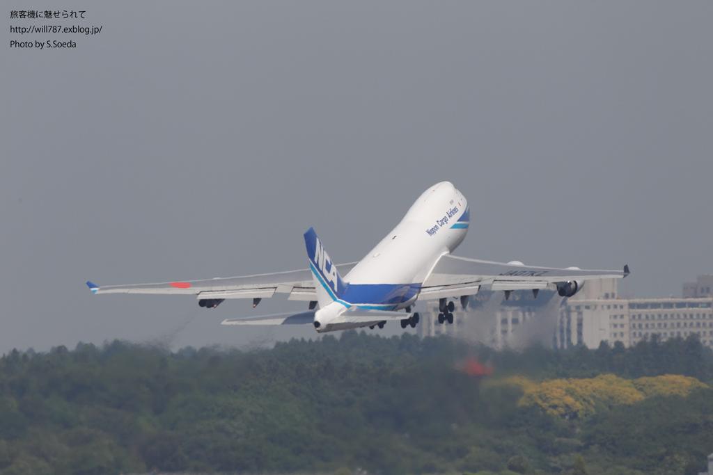 成田航空博物館屋上より離陸機を撮る_d0242350_10155693.jpg