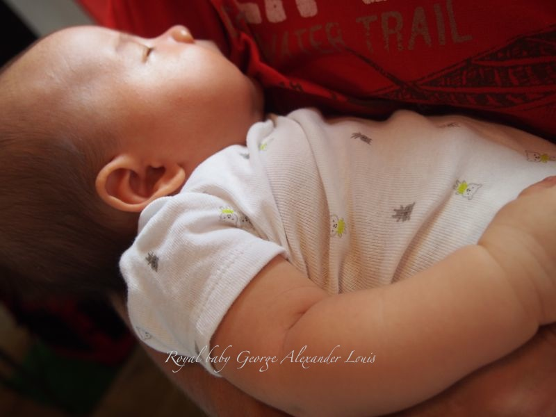 Royal baby George Alexander Louis ジョージ・アレクサンダー・ルイ_d0266681_035429.jpg