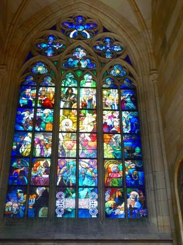 中欧家族旅行2012年08月-第九日目-チェコ・プラハ、プラハ城(II)、聖ヴィート大聖堂_c0153302_14214789.jpg