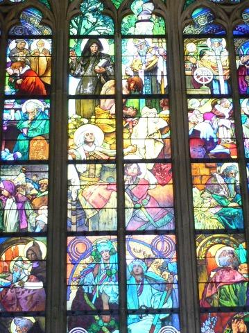 中欧家族旅行2012年08月-第九日目-チェコ・プラハ、プラハ城(II)、聖ヴィート大聖堂_c0153302_14224639.jpg
