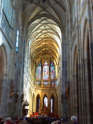 中欧家族旅行2012年08月-第九日目-チェコ・プラハ、プラハ城(II)、聖ヴィート大聖堂_c0153302_14233548.jpg